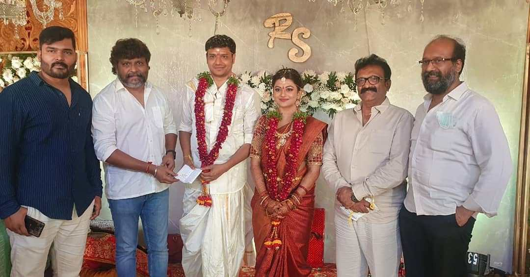 actress anandhi wedding saree pics