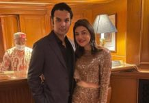 kajal aggarwal with husband gautam kitchlu new year celebration