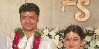 kayal anandhi wedding with socrates pics