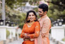 nakshathra nagesh engagement party with raghav siva