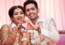 nakshathra nagesh engagement pics with raghav siva