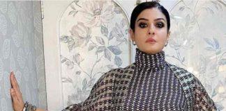 raveena tandon in printed dress from SVA