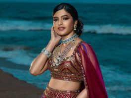 sanchita shetty lehenga look for studio149 calendar shoot