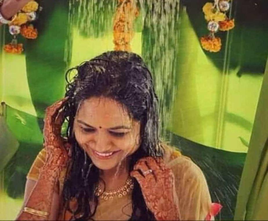 singer sunitha haldi function (2)