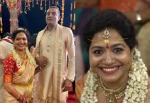 singer sunitha wedding photos