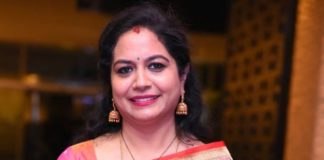 sunitha upadrasta in green saree at 30 rojullo preminchadam ela prerelease event