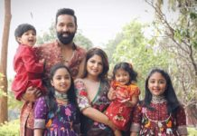 vishnu manchu and family bhogi 2021 celebrations