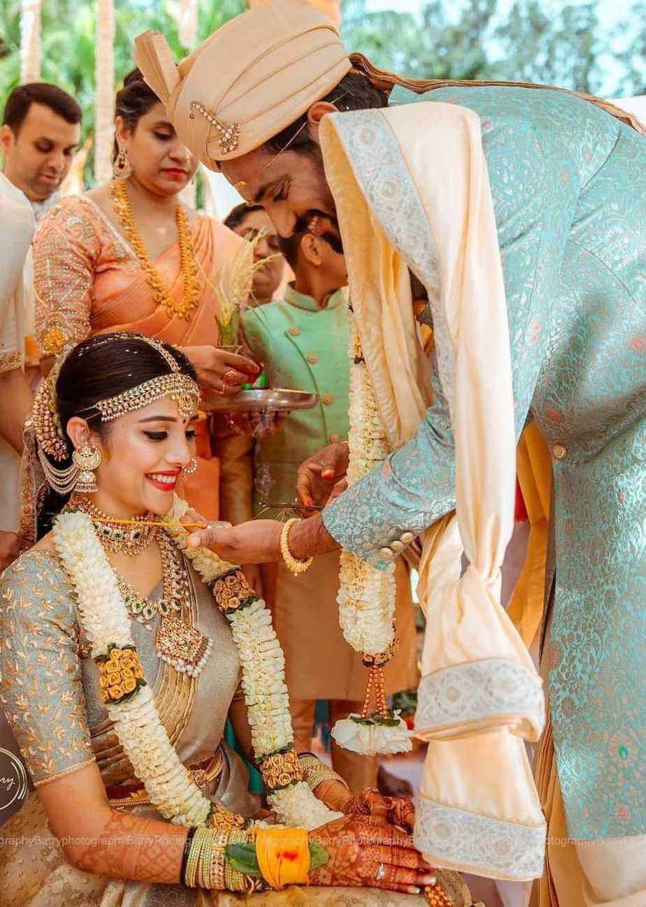 Darling Krishna and Milana Nagaraj-wedding pictures1