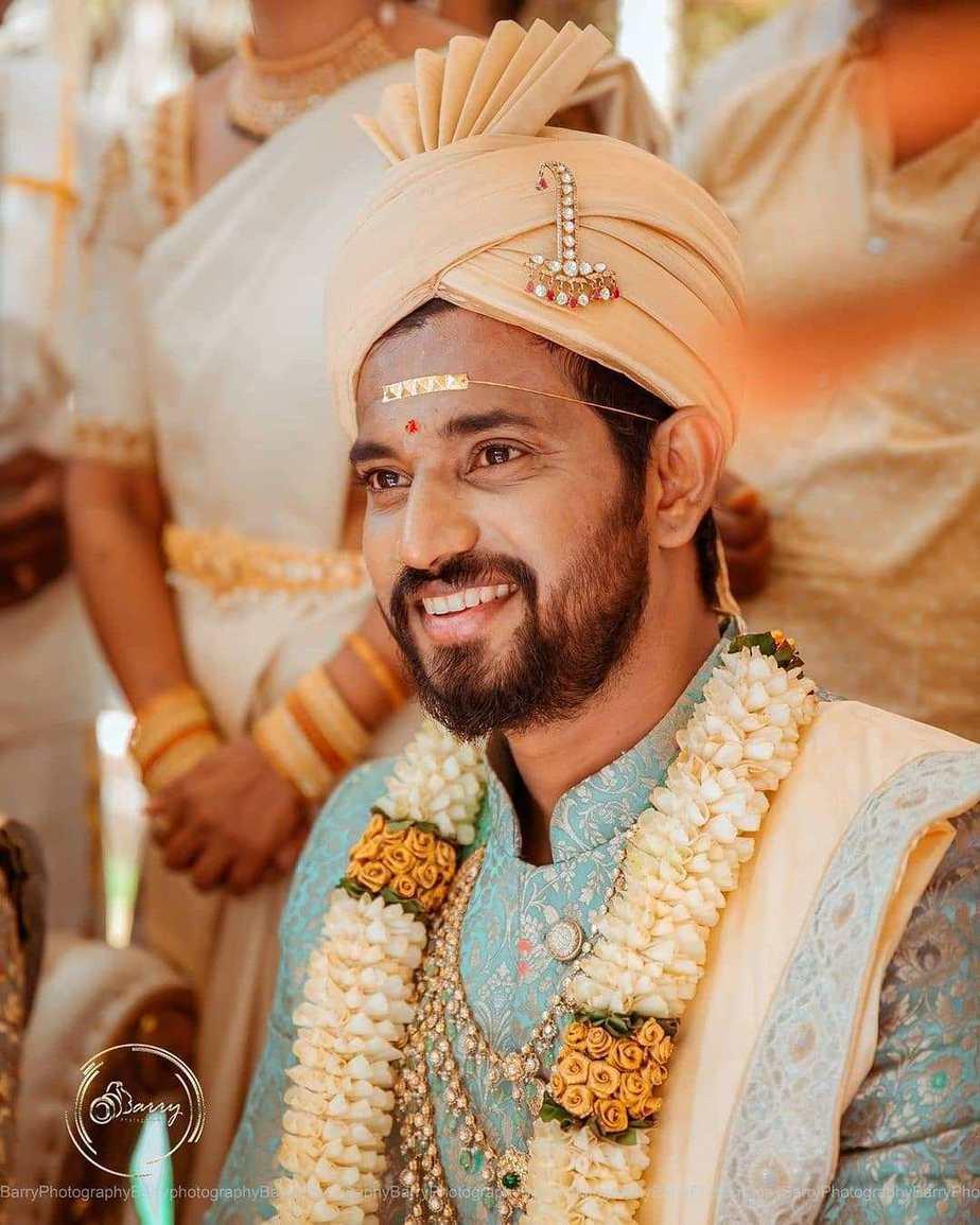 Darling Krishna and Milana Nagaraj-wedding pictures5