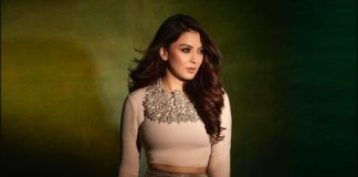 Hansika Motwani in a beige outfit by Label D -1