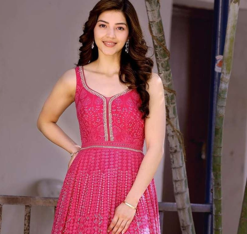 Mehreen Pirzadaa in a hot pink outfit by issa studio2