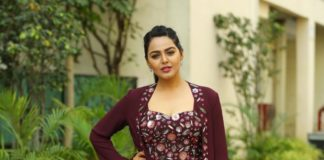 Monal Gajjar in a top and palazzo pants with jacket for Dance plus
