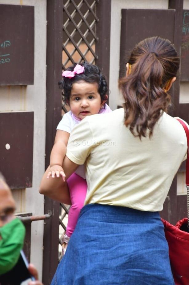 Shilpa Shetty with daughter Samisha