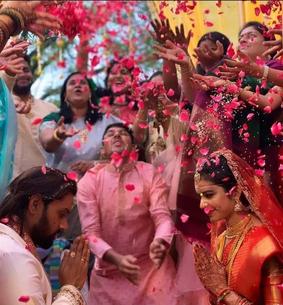 Sumanth Ashwin Deepika raju-wedding pictures1