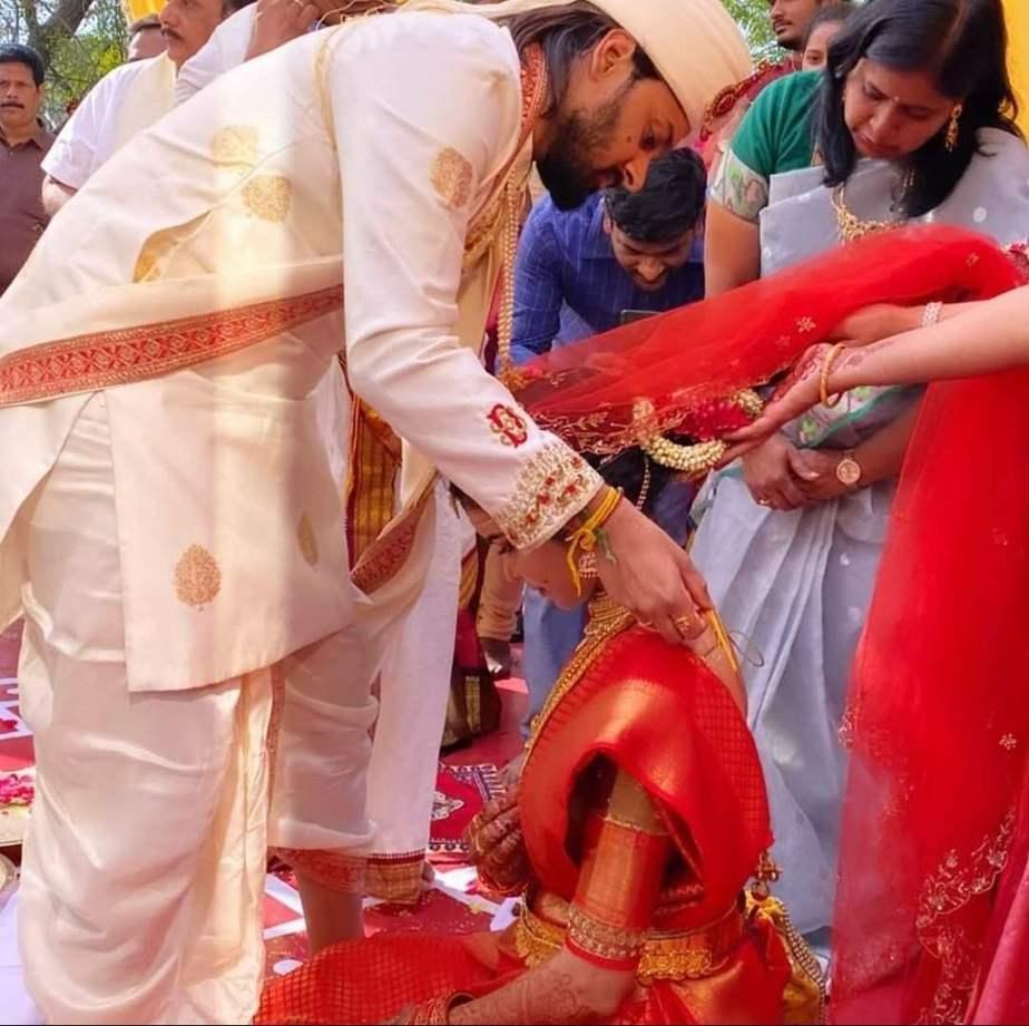 Sumanth Ashwin Deepika raju-wedding pictures2