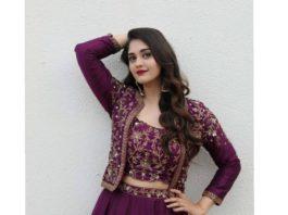Surabhi Puranik in purple lehenga by Preesha2