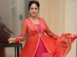 nandita swetha at Kapatadhaari Movie Pre-Release event