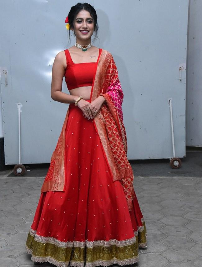 priya prakash varrier at check movie pre release