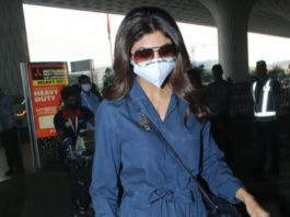 shilpa shetty and raj kunddra travel in style