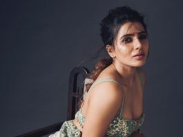 samantha prabhu akkineni in lehenga with cape for arpitha mehta mirror
