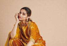 Deepika Padukone in sabyasachi kurta set for holi-2