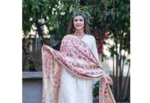 Lakshmi Manchu in off white kurta set by saundh-2