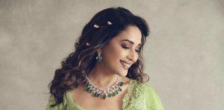 Madhuri Dixit Nene in torani lehenga for Dance deewane-2