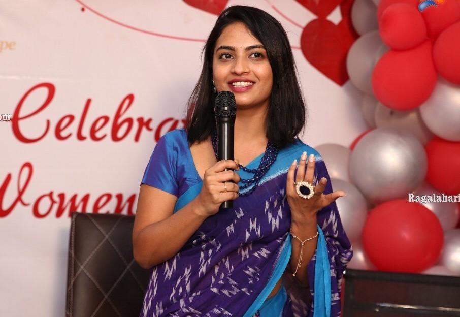 alekhya harika women's day celebrations
