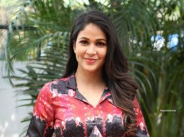 lavanya tripathi in printed co-ord set