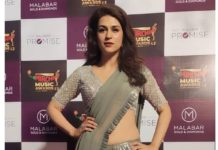 shraddha dasat radio mirchi music awards in chennai 2021