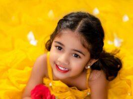 Allu Arha in yellow Janya's closet ball gown-1