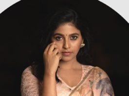 Anjali in pastel saree by Bhargavi Kunam-3
