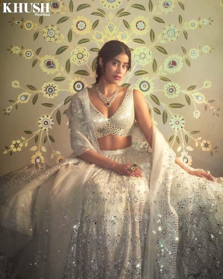 Janhvi Kapoor in abhinav Mishra for khush mag-2