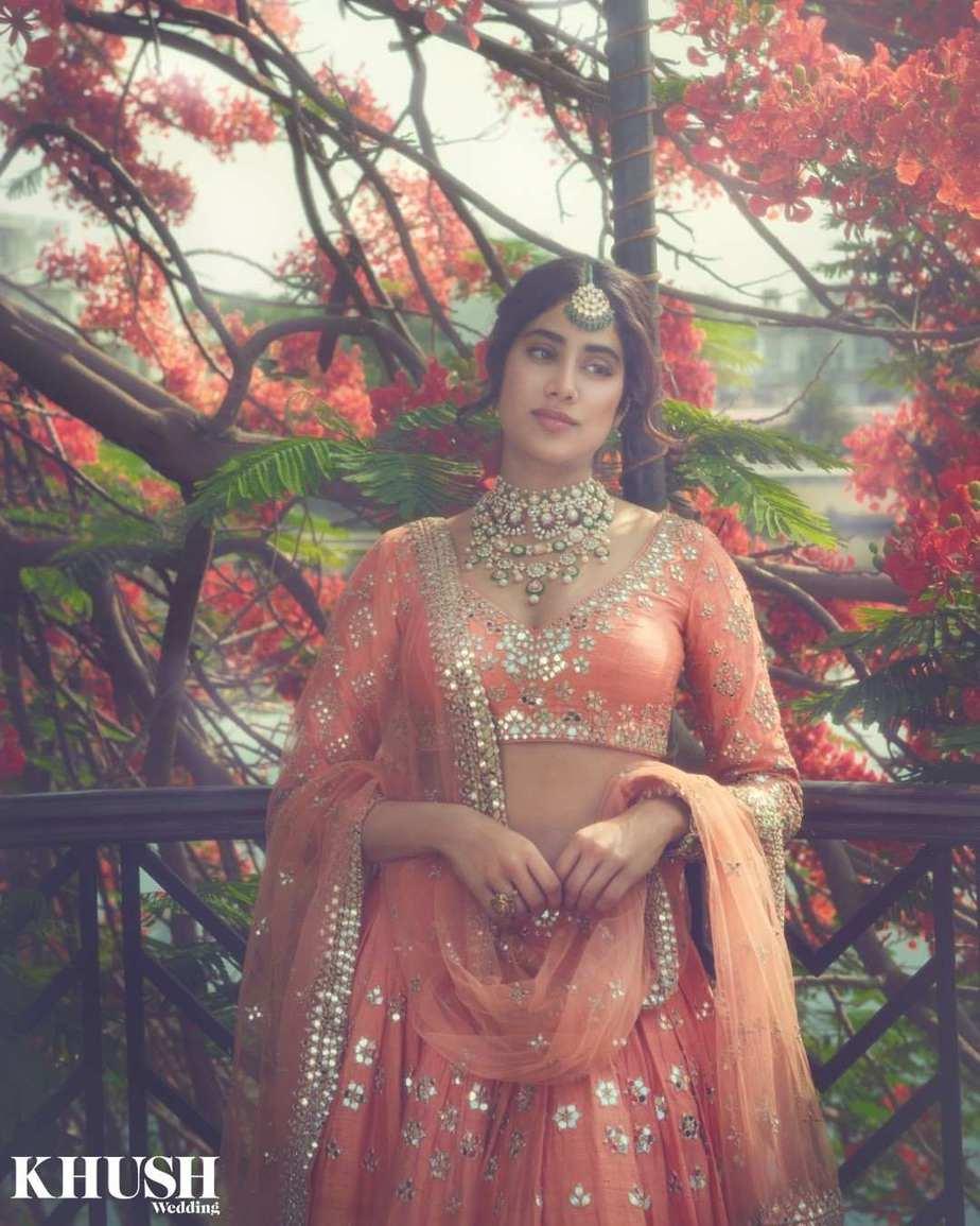 Janhvi Kapoor in abhinav Mishra for khush mag-4