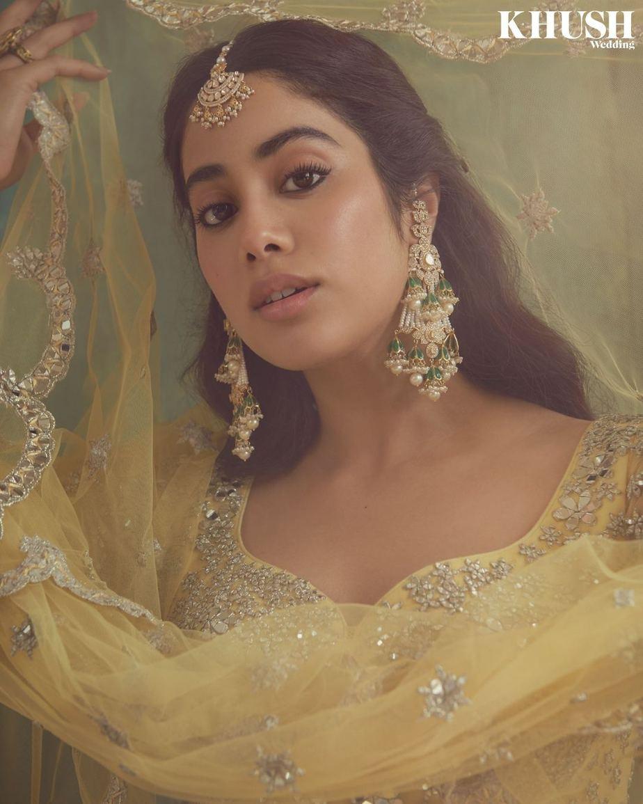 Janhvi Kapoor in abhinav Mishra for khush mag-6