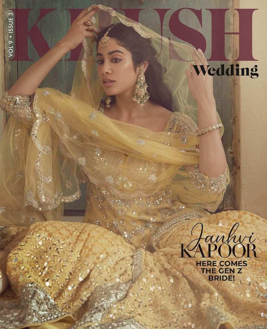 Janhvi Kapoor in abhinav Mishra for khush mag-7