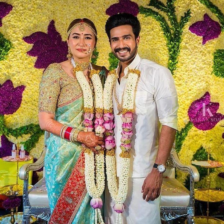 Jwala gutta in l;abel vida for her wedding with Vishnu Vishal