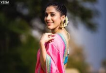 Rashmi gautam in sleek chi couture lehnga for ugadi-2