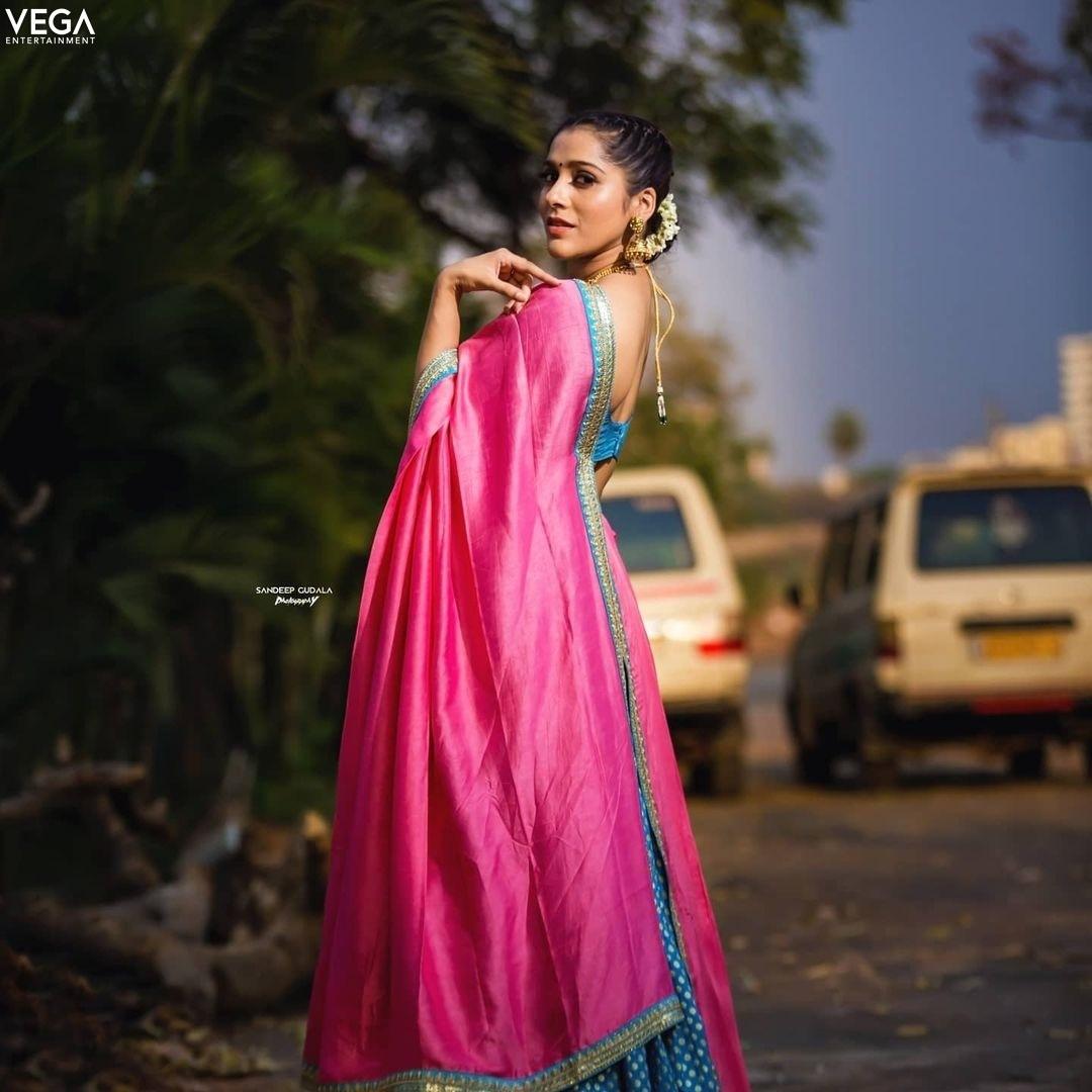 Rashmi gautam in sleek chi couture lehnga for ugadi-3
