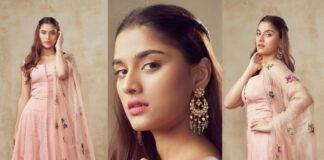 Saiee Manjrekar in Mahima Mahajan for Major movie promotions-featured