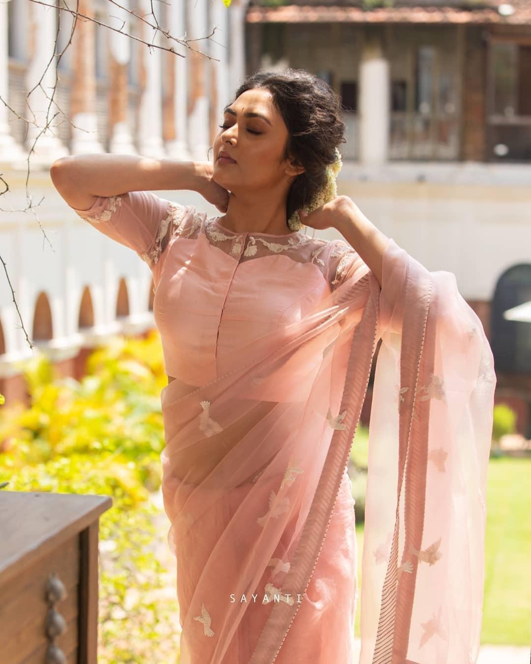 Bird embroidered blouse-sayanti ghosh-1
