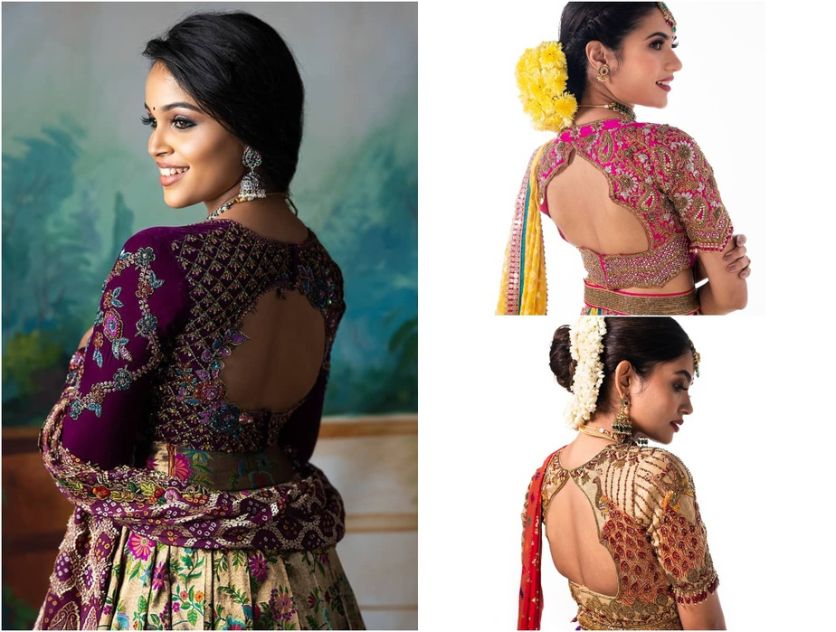 Bridal Blouse Designs From Studio 149!