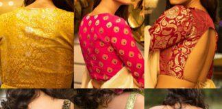 Brocade blouse collection-Sayanti Ghosh