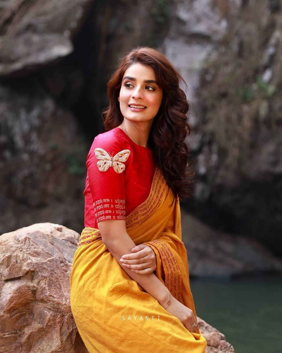 Butterfly blouse-Sayanti Ghosh