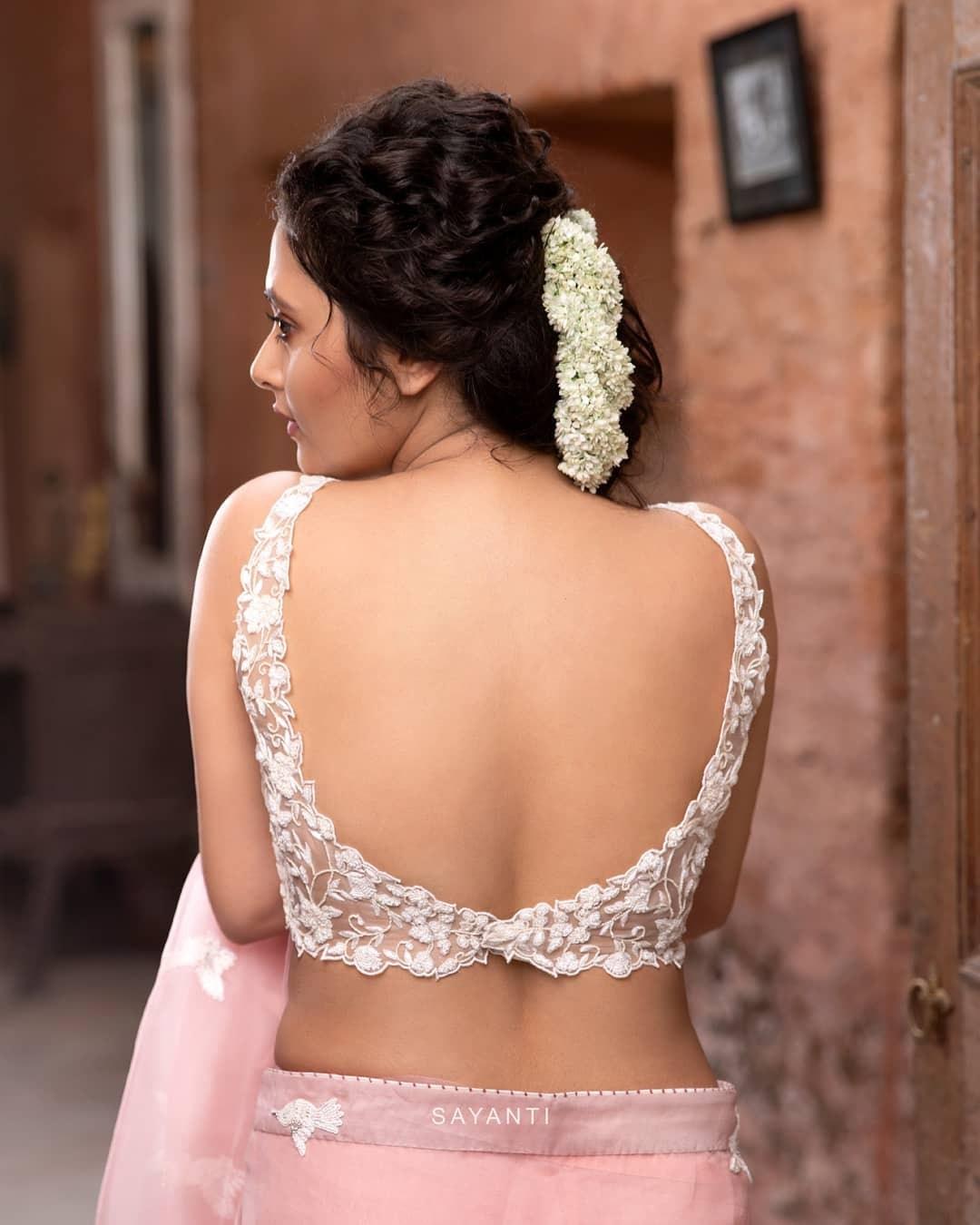 Cut dana embroidery blouse-Sayanti ghosh-1