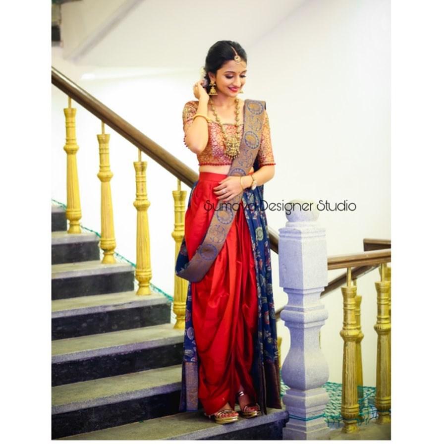 Dhoti half saree-Sumaya designer-2