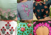 Floral blouse collection-Sayanti Ghosh