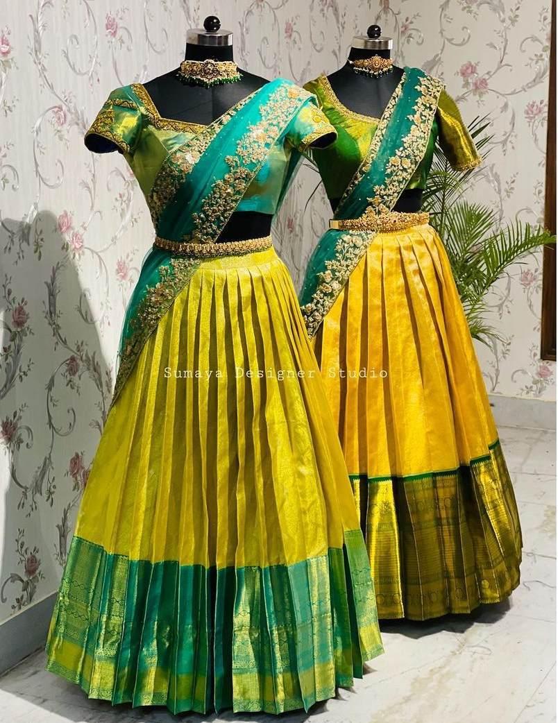 Green and yellow-Sumaya Designer-2