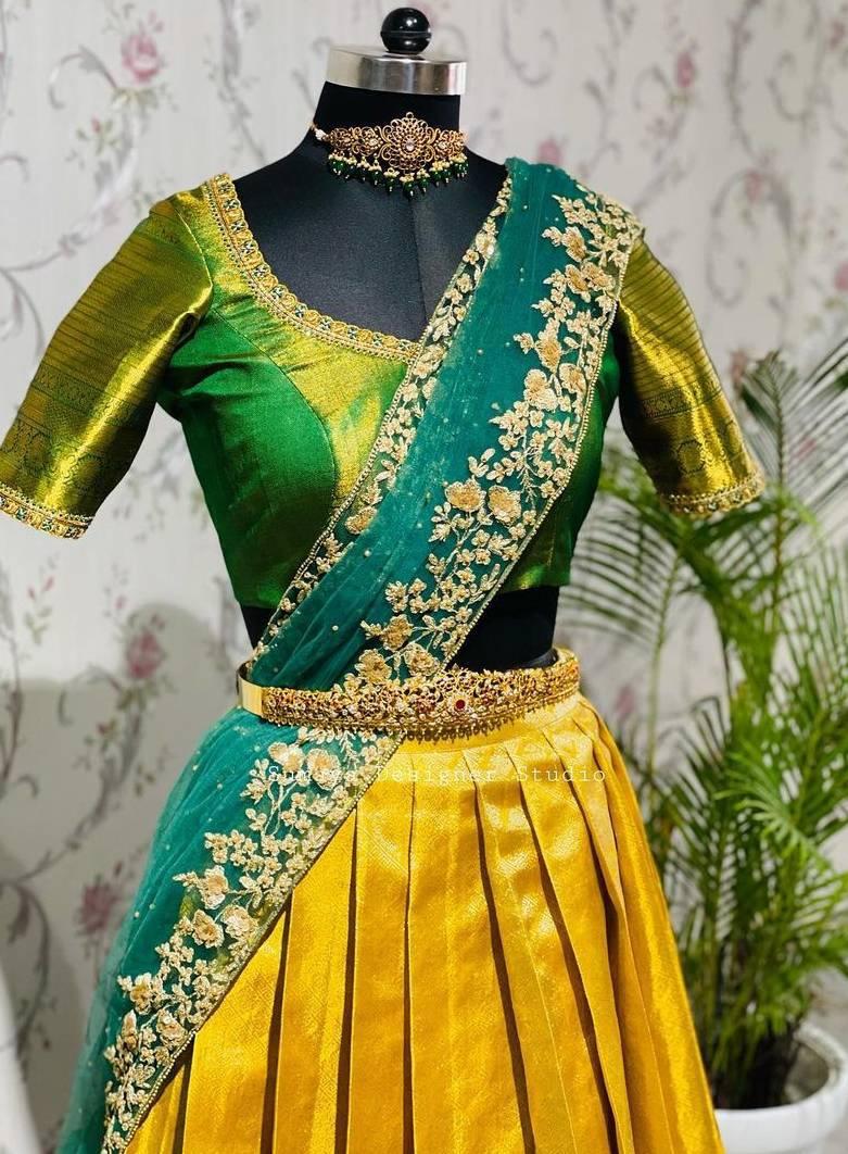Green and yellow-Sumaya Designer