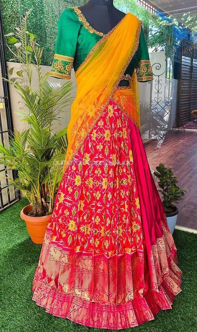Half and half half saree-Sumaya Designer-1